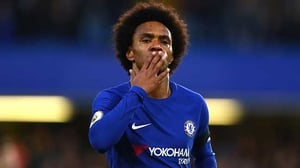 Willian is back in Brazil