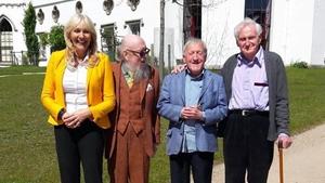 Miriam O'Callaghan with Gareth De Brún, Paddy Maloney and John Boorman