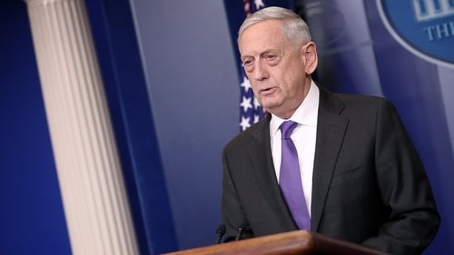 US Defence Secretary Jim Mattis has voiced support for Saudi Arabia's decision