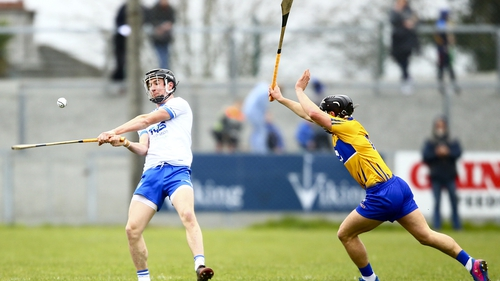 Waterford's Conor Gleeson and Clare's David Reidy
