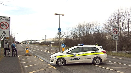 The incident occurred at Bridgend in Co Donegal last night