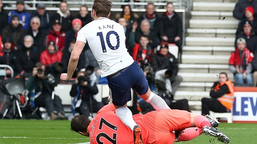 Harry Kane is out of action for up to five weeks