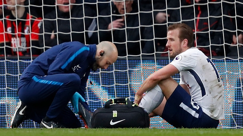 Tottenham overcomes Kane injury to beat Bournemouth 4-1