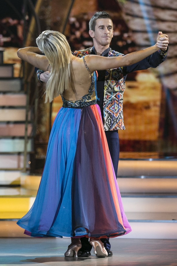 """Emily Barker says Rob Heffernan&squot;s foxtrot on Dancing with the Stars was """"amazing"""""""