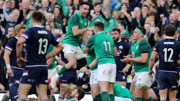 Ireland are now one game away from just a third Grand Slam in the history of the competition.