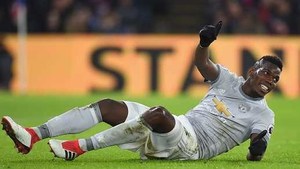 Paul Pogba is a major doubt for the Champions League last-16 second leg