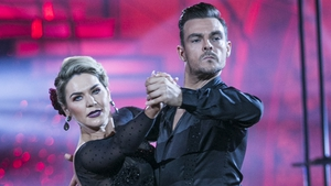 Erin McGregor and Ryan McShane on Dancing with the Stars