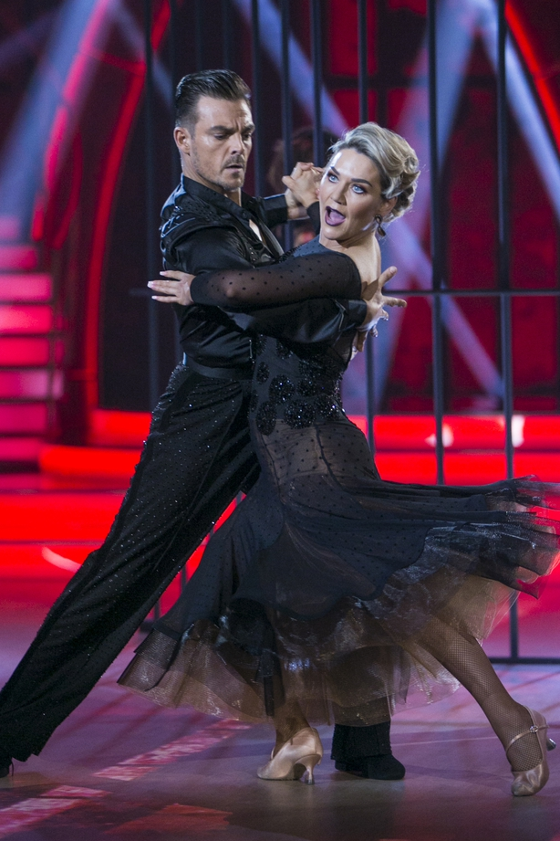 """Erin McGregor says she&squot;s """"so happy"""" to be heading to DWTS semi-final next week"""