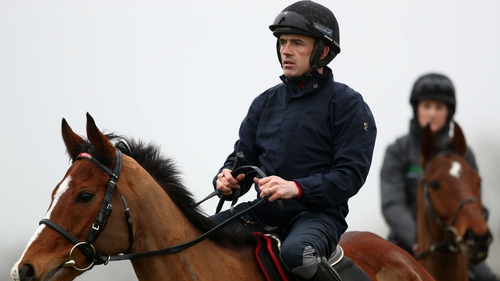 Ruby Walsh on board Faugheen this morning