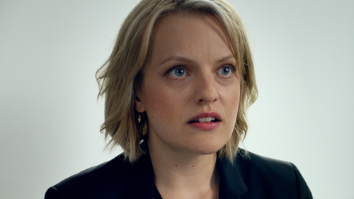 The truly brilliant actress Elisabeth Moss, star of Mad Men plays American journalist Anne in The Square