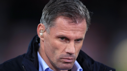 Jamie Carragher has apologised for his behaviour