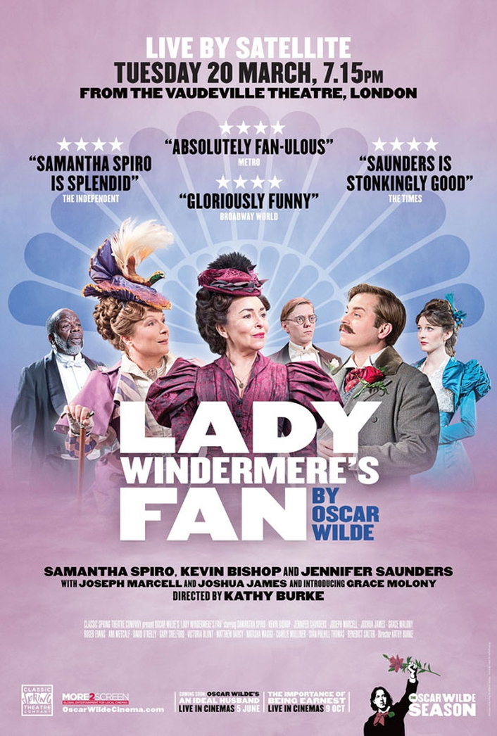 """Lady Windermere's Fan"", from London stage into Irish cinemas"