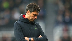 Mauricio Pellegrino has left Southampton just above the drop zone