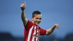 Aaron McEneff has now hit 11 goals so far for Derry this term