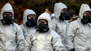 Chemical and forensic experts are examining several scenes in Salisbury