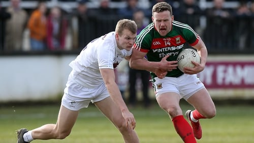 Andy Moran was in top form against Kildare at the weekend