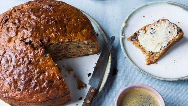 """""""Barmbrack traditionally contains charms which foretell future events"""""""