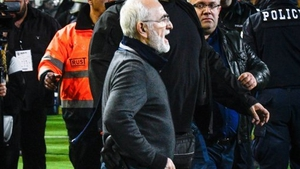 PAOK Salonika president Ivan Savvidis was wearing what looked to be a gun when he went onto the pitch