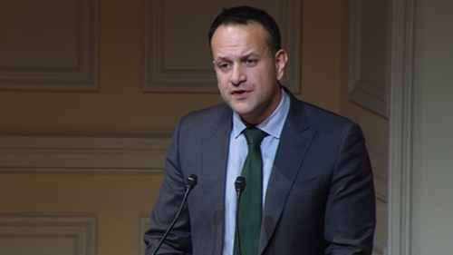 Leo Varadkar was speaking at an event to commemorate the 20th Anniversary of the Good Friday Agreement