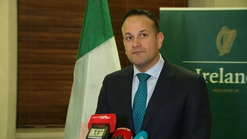 Taoiseach Leo Varadkar is in the US for St Patrick's Day events