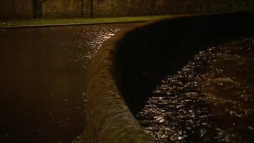 River Dodder burst its banks