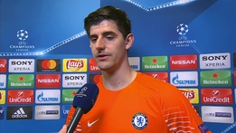 Thibaut Courtois acknowledges mistake for first goal