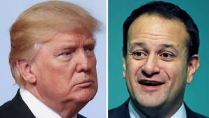 The US President is expected to meet the Taoiseach for around 40 minutes in the White House