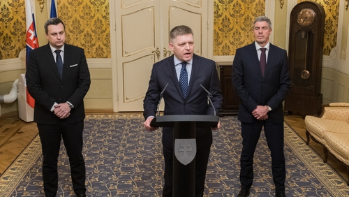 Robert Fico offered to resign 'in order to solve the political crisis' in Slovakia