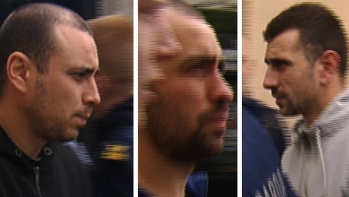 Catalin Rosloveanu, Costel Rosloveanu and Costel Podaru appeared before a sitting of Portlaoise District Court this afternoon