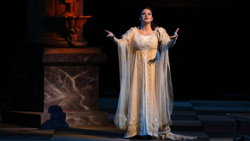 Celine Byrne in Tosca