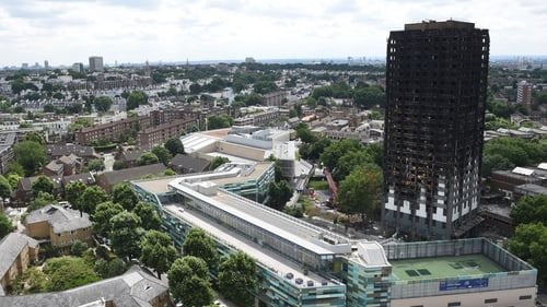 A spokesperson said the funding would cover removal and replacement of cladding at 158 high-rise blocks