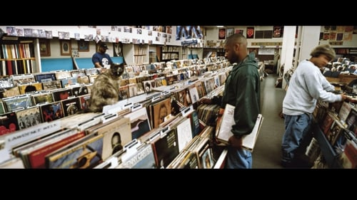 "Beni B, Chief Xcel and Lyrics Born at Records in Sacramento, May 1995. This is the cover of ""Endtroducing"" by DJ Shadow. Photo: Brian ""B+"" Cross from Ghost Notes: Music Of the Unplayed (University of Texas Press)"