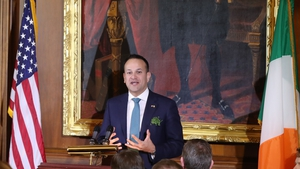 Taoiseach Leo Varadkar met US President Donald Trump in the White House today