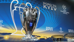 The draw for the Champions League quarter-final is being made in Nyon