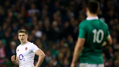 Owen Farrell hopes to get reacquainted with Johnny Sexton on 3 February