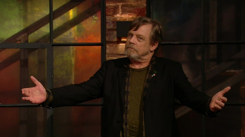 Mark Hamill - Voiced the droid you weren't looking for