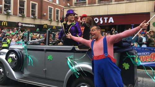 Marion Fossett, Grand Marshall of Limerick city parade