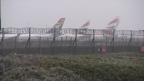 Over 70 flights have been cancelled to and from Heathrow Airport