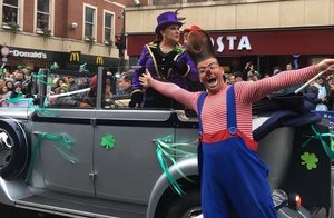 The Circus comes to Limerick for this years parade