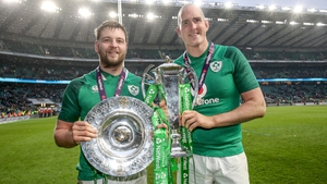 Locks Iain Henderson and Devin Toner keeping a tight grip on silverware