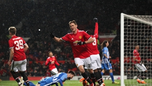 Nemanja Matic sealed the win for United