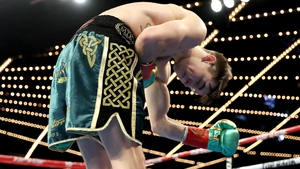 Michael Conlan salutes his fans
