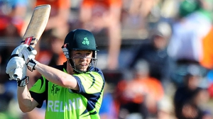 Niall O'Brien helped Ireland to a crucial victory
