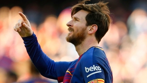 Lionel Messi came off the bench to score a late equaliser.