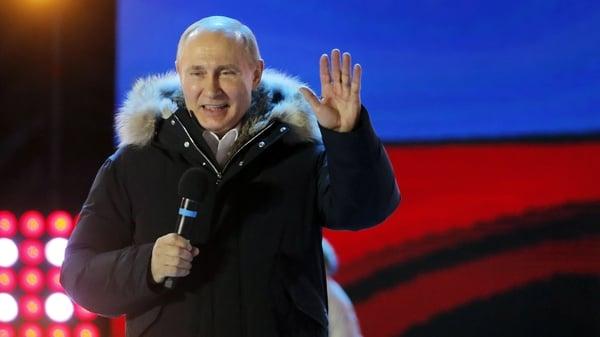 Winner winner chicken dinner: Vladamir Putin