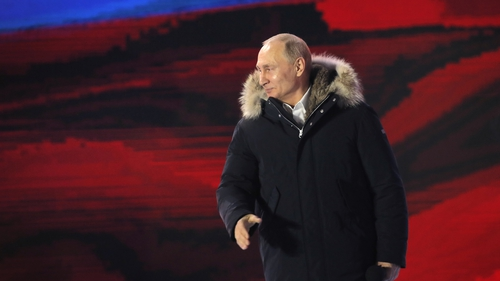 Vladimir Putin extended his rule over Russia for another six years