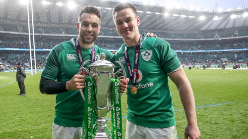 Conor Murray and Johnny Sexton were both included in the shortlist for the Player of the Tournament