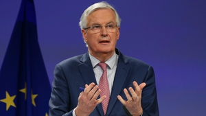 Michel Barnier says risks of failure remain as long as outstanding topics such as Ireland are unresolved