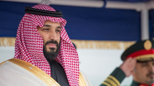 "Saudi crown prince Mohammad bin Salman said women need not wear the abaya robe or head cover, as long as their attire is ""decent and respectful"""