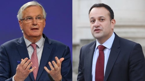 A spokesman for the Taoiseach said: 'The backstop applies unless and until something better is agreed'